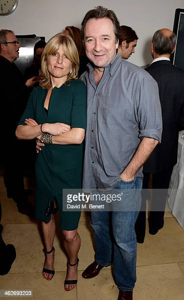 Rachel Johnson and Neil Pearson attend Christa and Bella's School Project fundraiser hosted by Christa D'Souza and Bella Pollen in aid of Marefat...