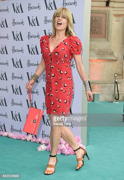 Rachel Johnson arrives for the VA Summer Party at Victoria and Albert Museum on June 22 2016 in London England