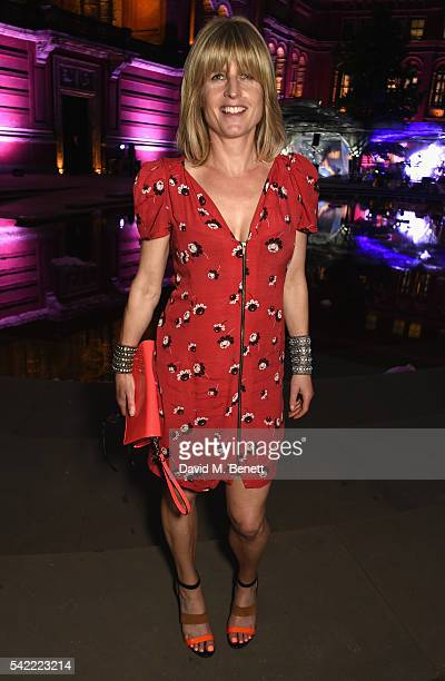Rachel Johnson attends the 2016 VA Summer Party In Partnership with Harrods at The VA on June 22 2016 in London England