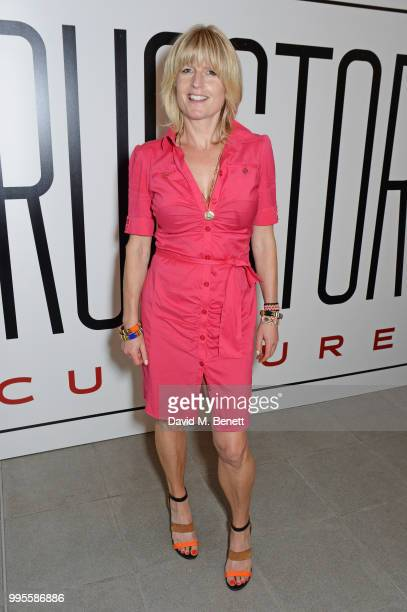 Rachel Johnson attends the launch party for the inaugural Issue of 'Drugstore Culture' at Chucs Serpentine on July 10 2018 in London England