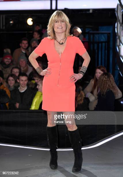 Rachel Johnson is evicted during the Celebrity Big Brother live eviction at Elstree Studios on January 19 2018 in Borehamwood England