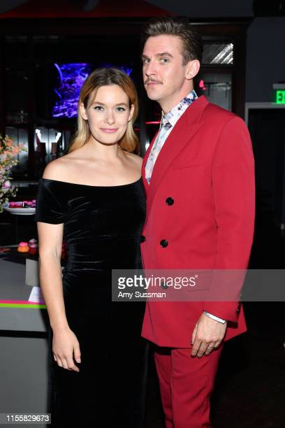 Rachel Keller and Dan Stevens attend the LA premiere of FX's Legion Season 3 after party on June 13 2019 in Hollywood California