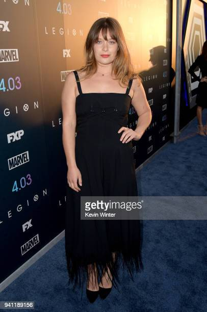 Rachel Keller attends the premiere of FX's 'Legion' Season 2 at DGA Theater on April 2 2018 in Los Angeles California