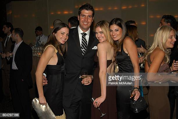 Rachel Krupa Chris Stern Ali Zweben and Anne Watkins attend LIZZIE GRUBMAN and CHRIS STERN Wedding Reception at Cipriani 42nd on March 18 2006 in New...