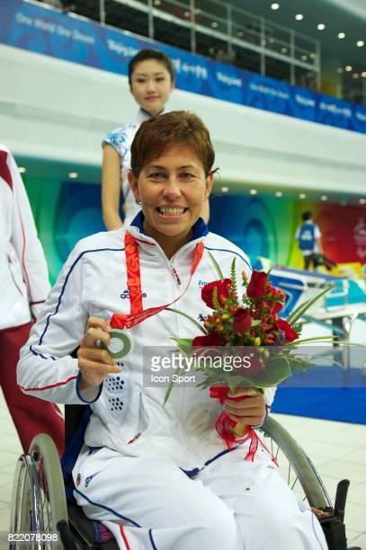 Rachel LARDIERE 100m brasse natation Jeux paralympiques 2008 Pekin