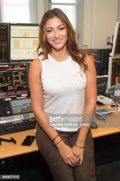 Rachel Legrain Trapani attends the Aurel BGC Charity Benefit Day 2017 on September 11 2017 in Paris France