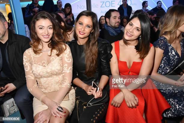 Rachel Legrain Trapani Malika Menard and Gyselle Soares attend the Christophe Guillarme show as part of the Paris Fashion Week Womenswear Fall/Winter...