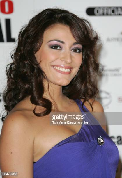 Rachel LegrainTrapani arrives at the Monte Carlo Comedy Film Festival Gala Awards Ceremony at the Grimaldi Forum on November 28 2009 in Monte Carlo...