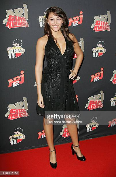 Rachel LegrainTrapani arrives at the Rex NRJ Cine Awards on October 1 2007 in Paris France