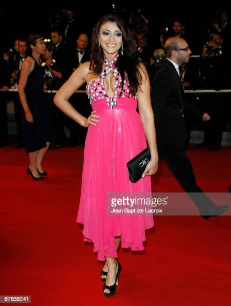 Rachel LegrainTrapani attends the 'Antichrist' premiere at the Grand Theatre Lumiere during the 62nd Annual Cannes Film Festival on May 18 2009 in...