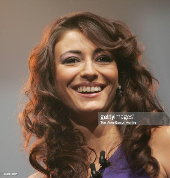 Rachel LegrainTrapani attends the Monte Carlo Comedy Film Festival Gala Awards Ceremony at the Grimaldi Forum on November 28 2009 in Monte Carlo...