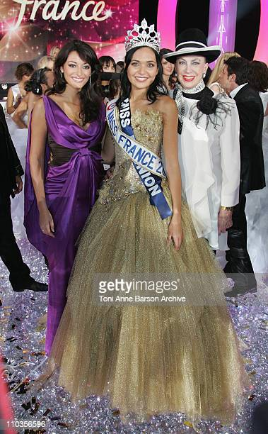 Rachel LegrainTrapani Miss France 2007 Miss France 2008 and Genevieve de Fontenay in Dunkerque