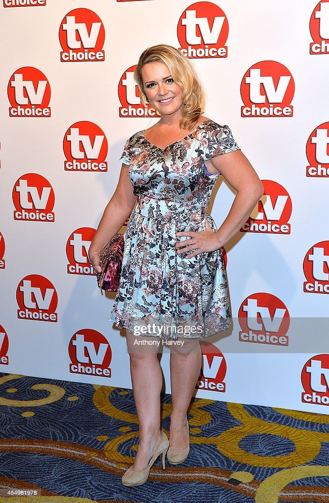 Rachel Leskovac attends the TV Choice Awards 2014 at London Hilton on September 8, 2014 in London, England.