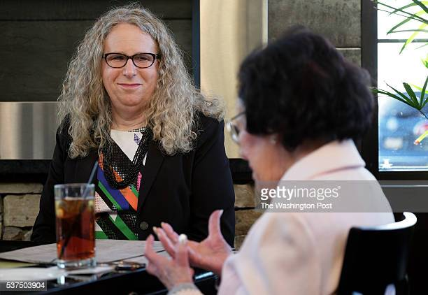 Rachel Levine, MD, physician general for the state of Pennsylvania, dines with her mother Lillian Levine, in Harrisburg, PA, on May 16, 2016. Levine...