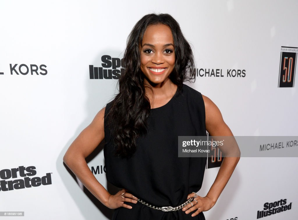 Rachel Lindsay at Sports Illustrated 2017 Fashionable 50 Celebration at Avenue on July 18, 2017 in Los Angeles, California.