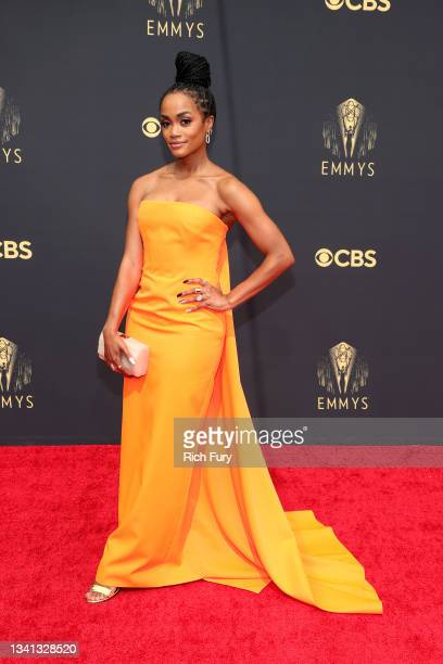 Rachel Lindsay attends the 73rd Primetime Emmy Awards at L.A. LIVE on September 19, 2021 in Los Angeles, California.