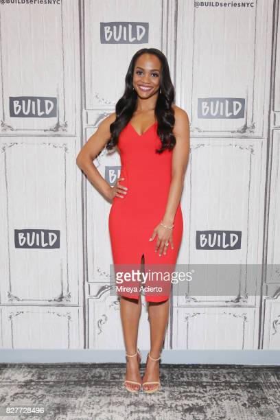 Rachel Lindsay visits Build to discuss her show The Bachelorette at Build Studio on August 8 2017 in New York City