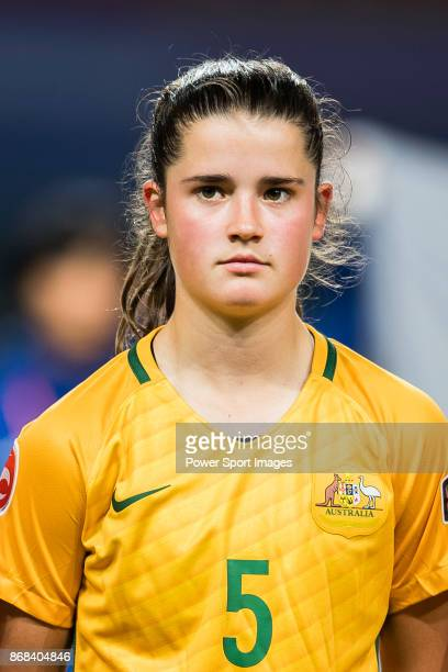 Rachel Lowe of Australia getting into the field during their AFC U19 Women'u2019s Championship 2017 Group Stage B match between Australia and Japan...