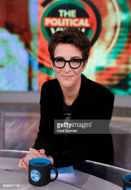 THE VIEW Rachel Maddow is the guest today Wednesday March 22 2017 on ABC's 'The View' 'The View' airs MondayFriday on the ABC Television Network...