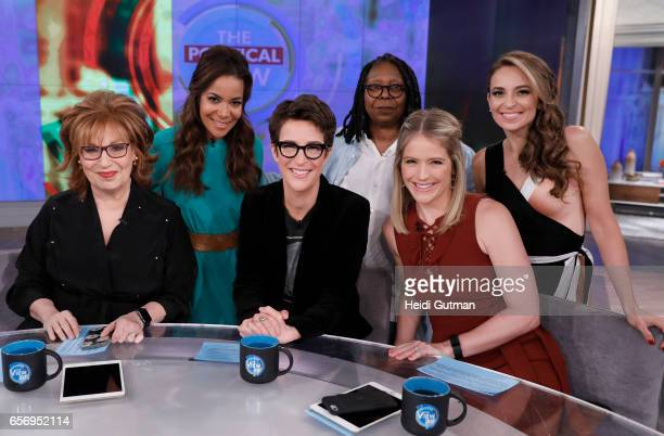 THE VIEW Rachel Maddow is the guest today Wednesday March 22 2017 on Walt Disney Television via Getty Images's The View The View airs MondayFriday on...