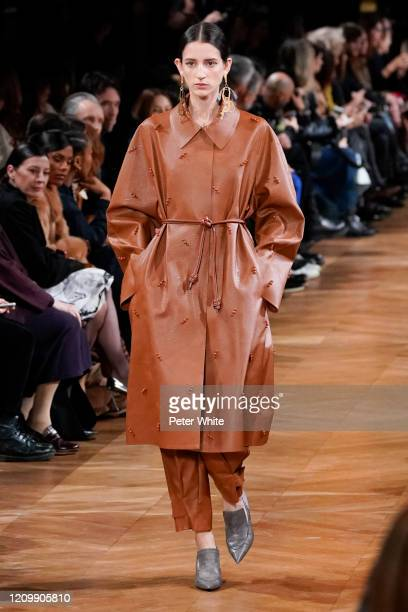 Rachel Marx walks the runway during the Stella McCartney as part of the Paris Fashion Week Womenswear Fall/Winter 2020/2021 on March 02 2020 in Paris...