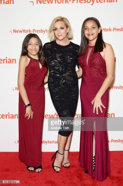 Rachel Mason actress Jane Krakowski and Maya Mason attend NewYorkPresbyterian Hospital's Amazing Kids Amazing Care dinner at Cipriani 25 Broadway on...