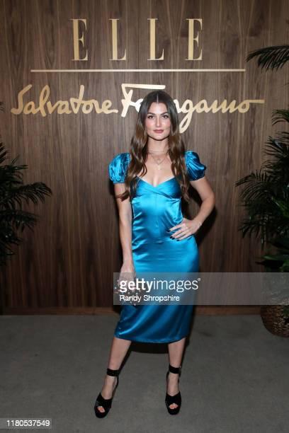 Rachel Matthews attends ELLE Ferragamo Hollywood Rising Celebration on October 11 2019 in West Hollywood California