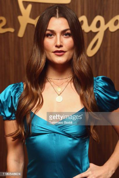 Rachel Matthews attends the ELLE x Ferragamo Hollywood Rising Party at Sunset Tower on October 11 2019 in Los Angeles California