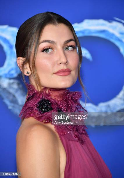 Rachel Matthews attends the premiere of Disney's Frozen 2 at Dolby Theatre on November 07 2019 in Hollywood California