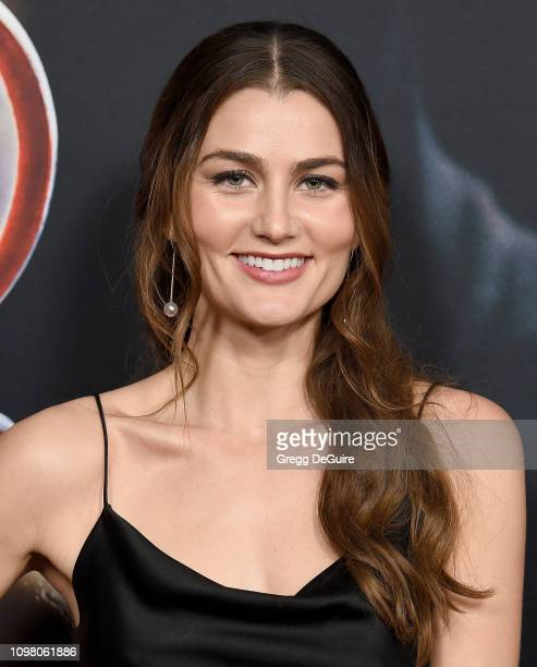Rachel Matthews attends Universal Pictures Special Screening Of Happy Death Day 2U at ArcLight Hollywood on February 11 2019 in Hollywood California