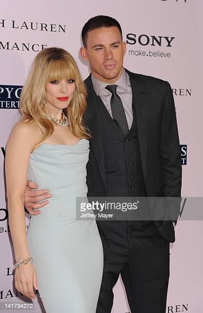 Rachel McAdams and Channing Tatum arrive at The Vow Los Angeles Premiere at Grauman's Chinese Theatre on February 6 2012 in Hollywood California