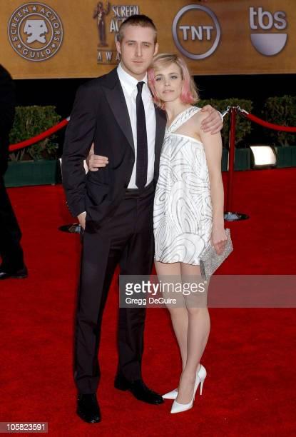 Rachel McAdams and Ryan Gosling during 13th Annual Screen Actors Guild Awards - Arrivals at Shrine Auditorium in Los Angeles, California, United...