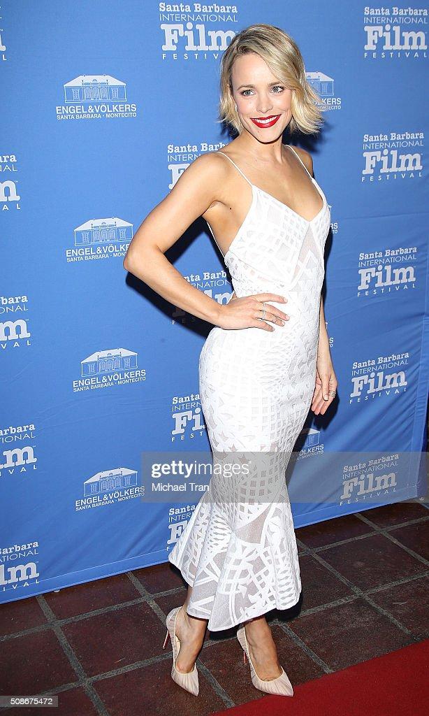 Rachel McAdams arrives at the American Riviera Award during The 31st Santa Barbara International Film Festival held at Arlington Theatre on February 5, 2016 in Santa Barbara, California.