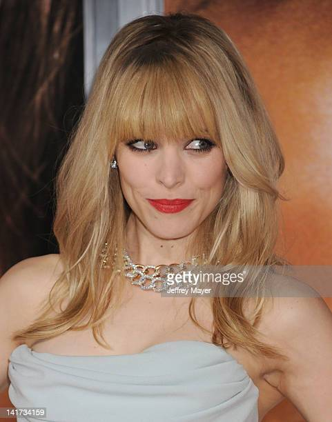 Rachel McAdams arrives at The Vow Los Angeles Premiere at Grauman's Chinese Theatre on February 6 2012 in Hollywood California