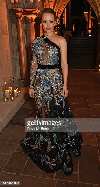 Rachel McAdams attends Marvel Studios and British GQ hosted reception in The Cloisters at Westminster Abbey, to celebrate the release of Doctor...