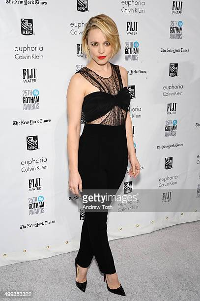 Rachel McAdams attends the 25th annual Gotham Independent Film Awards at Cipriani Wall Street on November 30 2015 in New York City