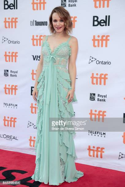 Rachel McAdams attends the Disobedience premiere during the 2017 Toronto International Film Festival at Princess of Wales Theatre on September 10...