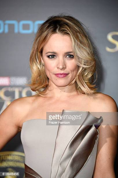 Rachel McAdams attends the premiere of Disney and Marvel Studios' Doctor Strange at the El Capitan Theatre on October 20 2016 in Hollywood California