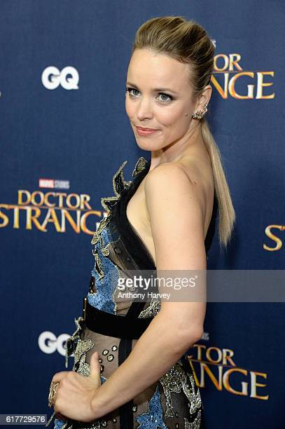 Rachel McAdams attends the red carpet launch event for Doctor Strange at Westminster Abbey on October 24 2016 in London United Kingdom