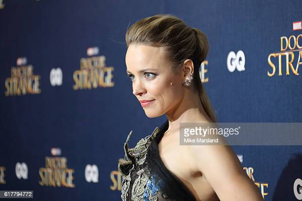 Rachel McAdams attends the red carpet launch event for Doctor Strange on October 24 2016 in London United Kingdom