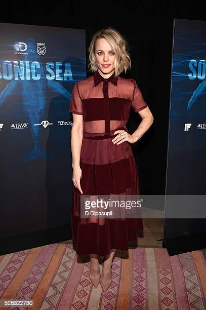 Rachel McAdams attends the 'Sonic Sea' New York screening at Crosby Hotel on May 4 2016 in New York City