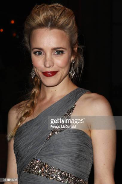 Rachel McAdams attends the world premiere after party of Sherlock Holmes held at Number 1 Mayfair on December 14, 2009 in London, England.