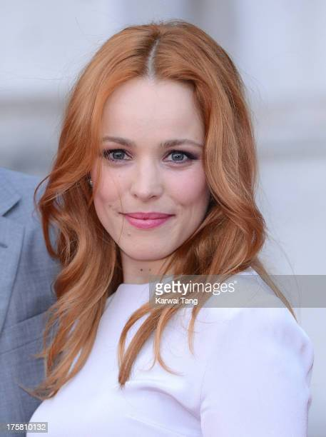 Rachel McAdams attends the world premiere of 'About Time' held at Somerset House on August 8 2013 in London England