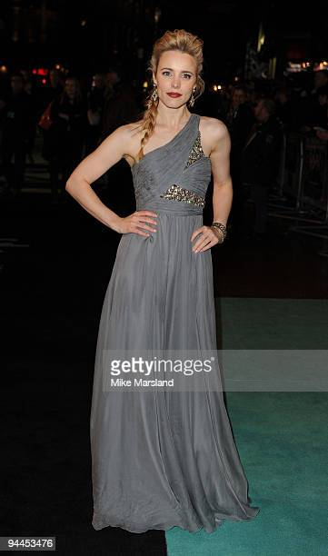 Rachel McAdams attends the World Premiere of Sherlock Holmes at Empire Leicester Square on December 14, 2009 in London, England.