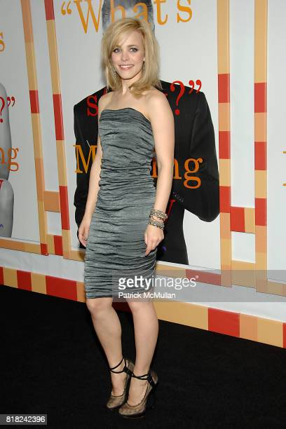 Rachel McAdams attends WORLD PREMIERE of MORNING GLORY at Clearview Cinemas' Ziegfeld on November 7 2010 in New York City