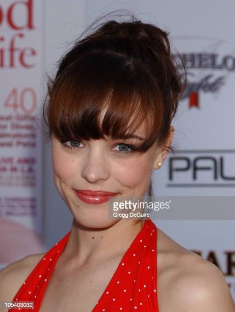 Rachel McAdams during 2004 Movieline Young Hollywood Awards Arrivals at Avalon Hollywood in Hollywood California United States