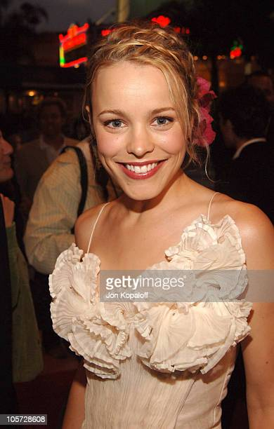 Rachel McAdams during 'Red Eye' Los Angeles Premiere Red Carpet at Mann Bruin Theater in Westwood California United States