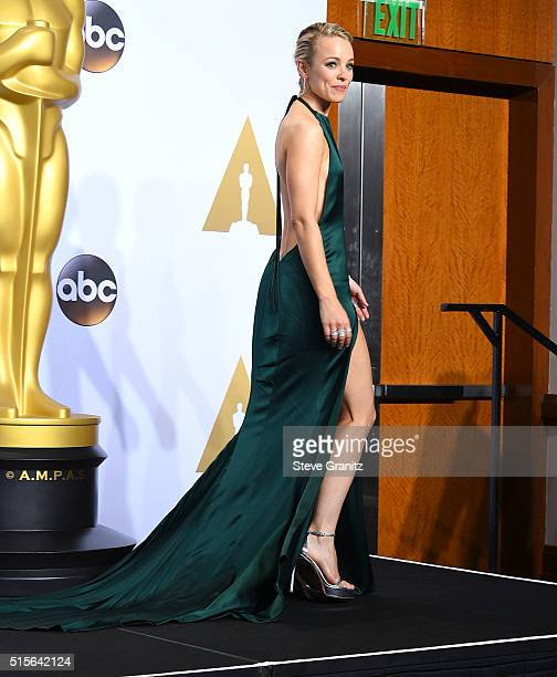 Rachel McAdams poses at the 88th Annual Academy Awards at Loews Hollywood Hotel on February 28 2016 in Hollywood California