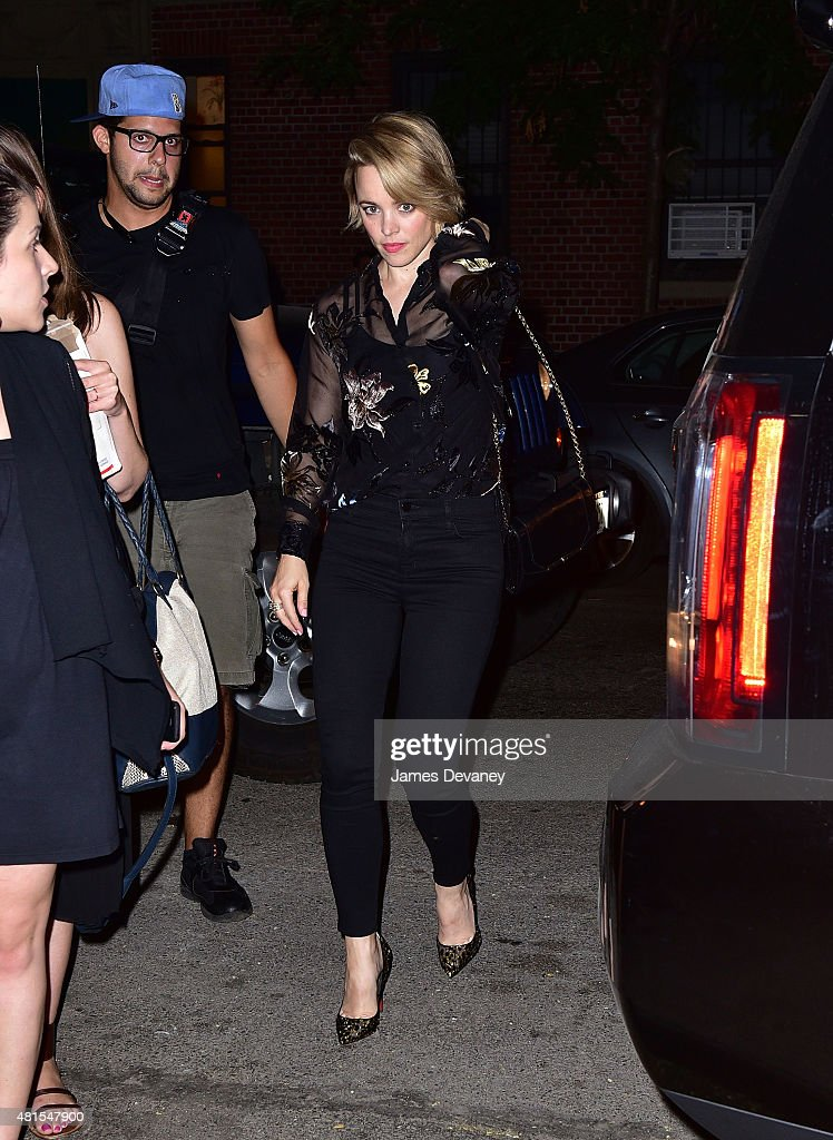 Celebrity Sightings In New York City - July 21, 2015 : News Photo