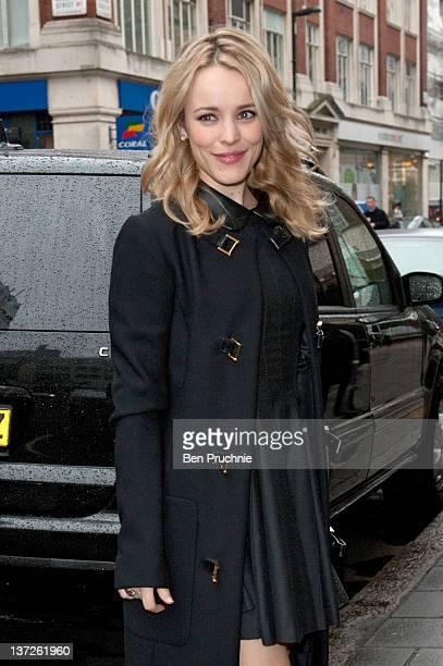 Rachel Mcadams sighted in London on January 18 2012 in London England